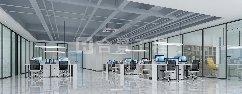 二层办公区域