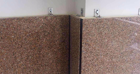 瓷砖干挂的方法以及干挂瓷砖的优缺点!