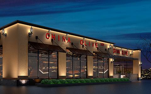 美国ChinaOlive餐厅