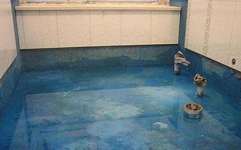 防水层上贴砖出现空鼓的原因